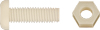 Nylon Lic. Plate Screw M6-1.0 X 20Mm