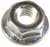 M6-1.0 14MM OD SPIN LOCK Nut WithSERRATION.