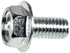 M6-1.0 X 12MM Hex Flange License Plate Screw