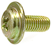 Phil Pan Wshr Hd Lic. Plate Screw M5-.8 X 12Mm