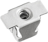 GM Fender Bracket Retainer Nut Spring Steel Zinc-Organic