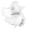 Bmw Moulding Clip, White Nylon