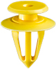Vw/Audi/Seat/Skoda Retainer, Yellow Nylon, Top Hd 13Mm, Bottom Hd 17.5Mm, 10Mm Stem Dia