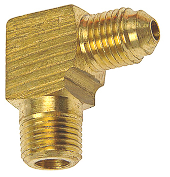 Brass Male Elbow 1/4 Tube Size 1/8 Thread