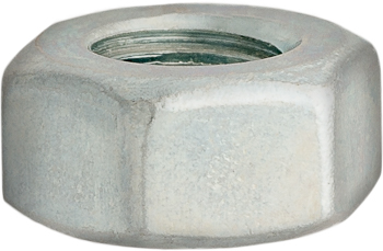 7/16-14 Finish Hex Nut Zinc