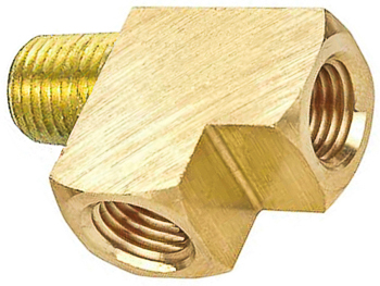 Brass Street Tee 1/8 Pipe Thread