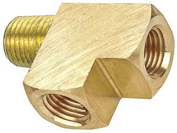 Brass Street Tee 1/4 Pipe Thread